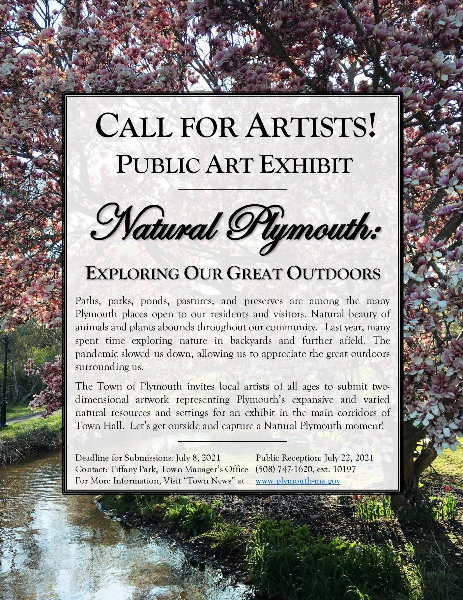 Natural Plymouth Exhibit Flyer 1