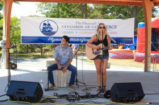 The Waterfront Festival. Organized by the Plymouth Area Chamber of Commerce