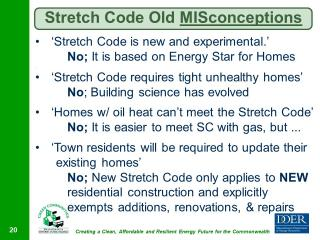 Stretch Code Misconceptions